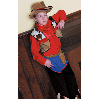 Boys Cowboy Fancy Dress Costume
