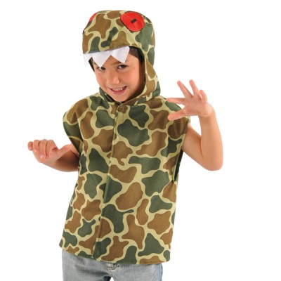 Children's Boys and Girls Dinosaur Tabard Costume
