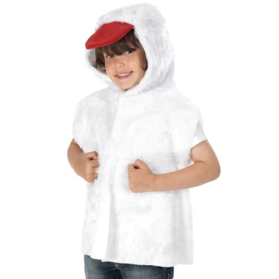 Children's Boys and Girls Fur Duck Tabard Costume