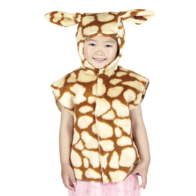 Children's Boys and Girls Giraffe Tabard Costume