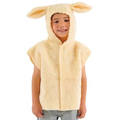 Children's Boys and Girls Lamb Nativity Tabard Costume