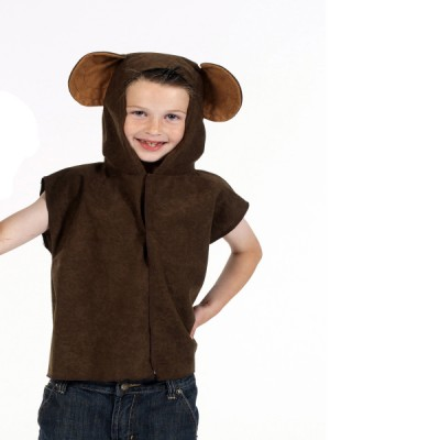 Children's Boys and Girls Lite Monkey Tabard Costume