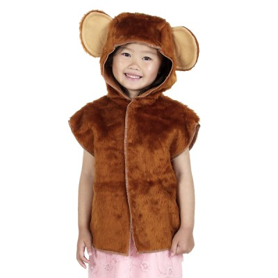 Children's Boys and Girls Monkey Tabard Costume