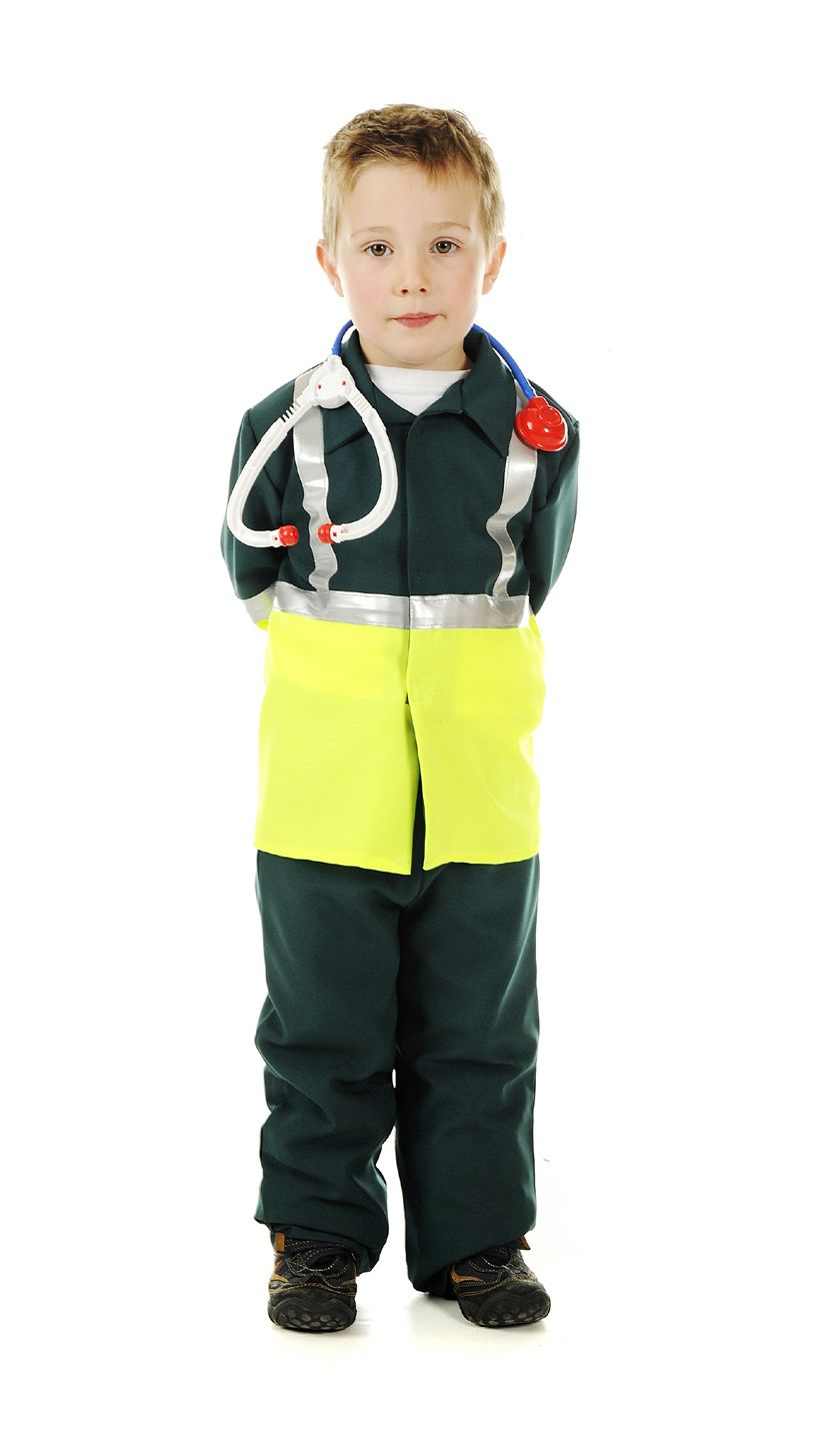 Children's Kids Boys and Girls Paramedic Doctor Surgeon Fancy ...