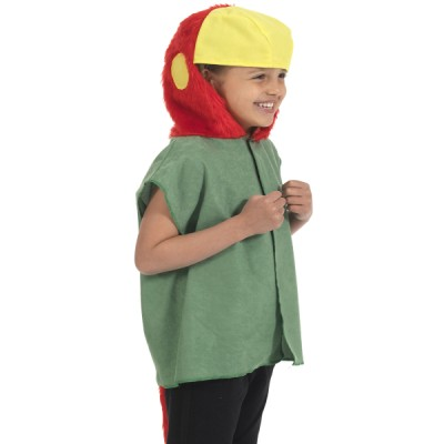 Children's Boys and Girls Parrot Tabard Costume