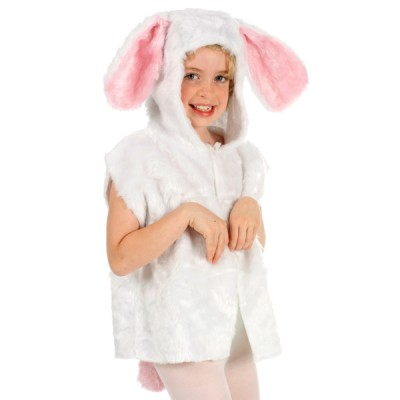 Children's Boys and Girls Rabbit Fur Tabard Costume
