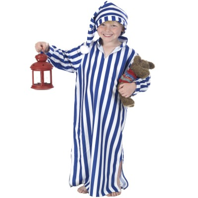 Children's Boys and Girls Wee Willie Winkie Ebenezer Scrooge Fancy Dress Up Costume