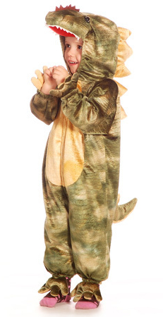 Children's Boys Dinosaur Dragon Fancy Dress Up Costume