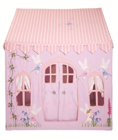Children S Girls Large Win Green Fairy Cottage Playhouse