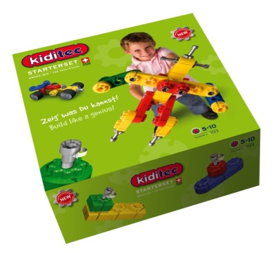 Children's Kiditec Big - 130 Pieces