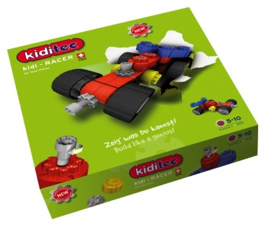 Children's Kiditec Kidi-Racer - 54 Pieces