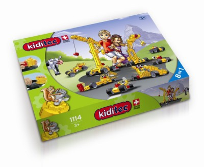 Children's Kiditec  Multiset - 152 Pieces