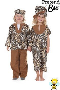Children's Kids Girls African Girl Lady Fancy Dress Up Costume