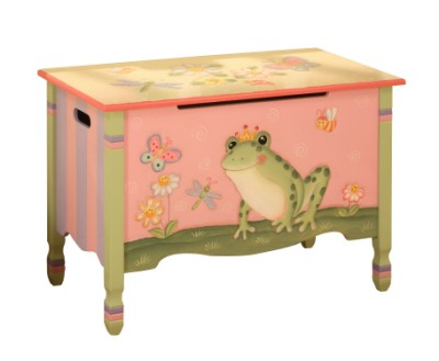 Children's Teamson Magic Garden Toy Chest