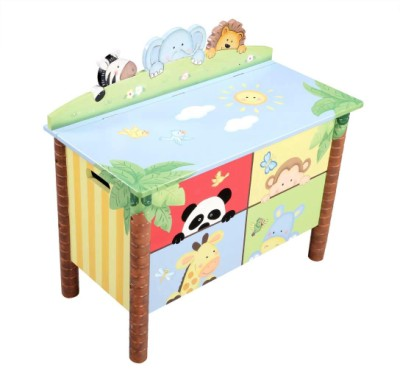 Children's Teamson Sunny Safari Toy Box
