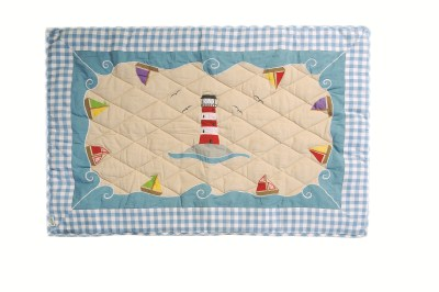 Children's Win Green Large Beach House Floor Quilt