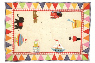 Children's Win Green Small Toy Shop Floor Quilt
