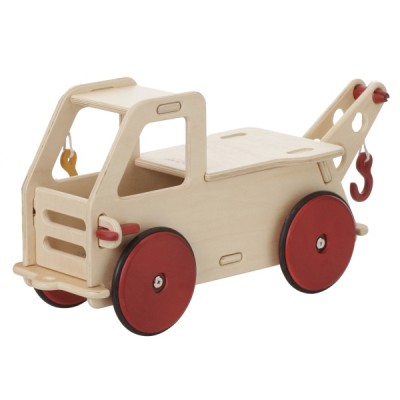Children's Wooden Baby Truck Natural - Moover Toys