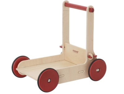 Children's Wooden Baby Walker Natural - Moover Toys
