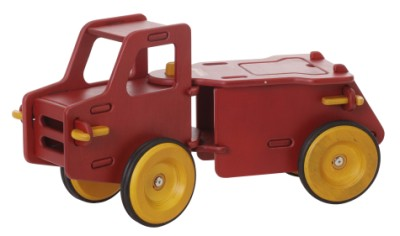 Children's Wooden Dump Truck Red - Moover Toys