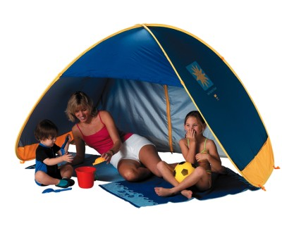 Family 50+ UV / UPF Protection Pop Up Beach Garden Tent Play Shade Sun Shelter