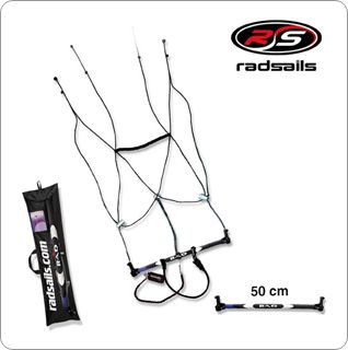 Radsail Pro Crossover Control Bar with Safety Bar