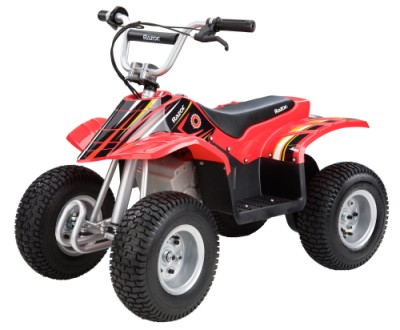 Razor Dirt 24v Electric Quad - Red