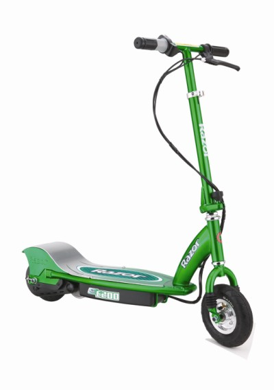 Razor E200 Electric Scooter - Green