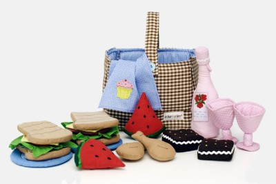 Soft Picnic Basket Set - Oskar & Ellen
