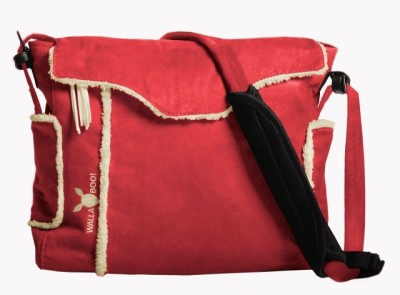 Wallaboo Changing Bag - Red