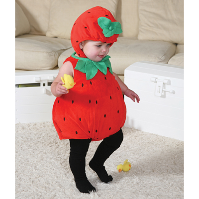 Baby Toddler Strawberry Fancy Dress Up Costume