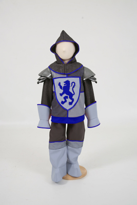 Boys Crusader Knight Fancy Dress Costume
