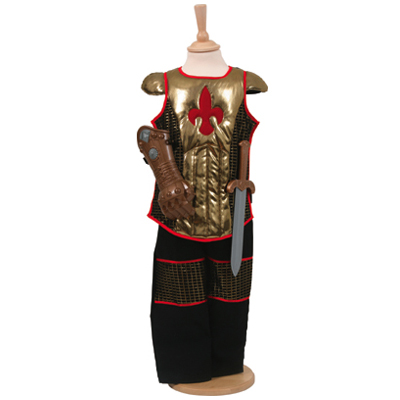 Boys Complete Brave Heart Medieval Knight Fancy Dress Up Costume