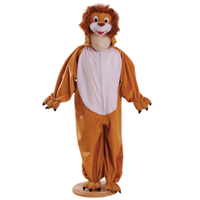 Boys and Girls Leonard Lion Fancy Dress Costume