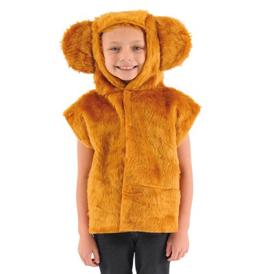 Children's Boys and Girls Fur Bear Tabard Costume