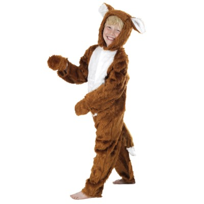 Children's Boys and Girls Furry Fantastic Mr Fox Fancy Dress Up Costume