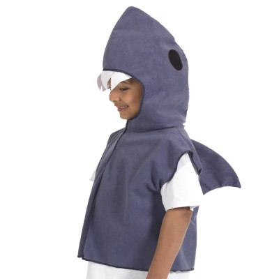 Children's Boys and Girls Shark Tabard Costume