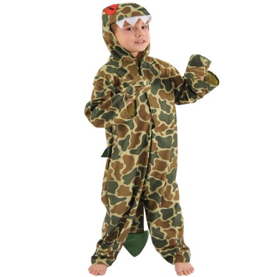 Children's Boys Dinosaur Fancy Dress Up Costume