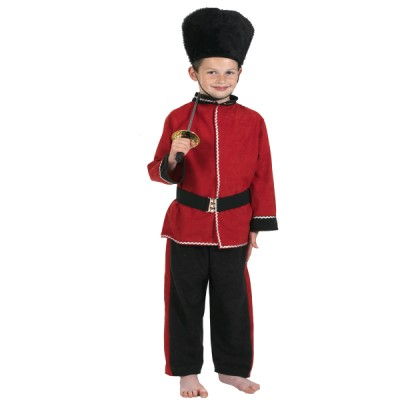 Children's Boys Royal Guardsman Uniform Fancy Dress Up Costume