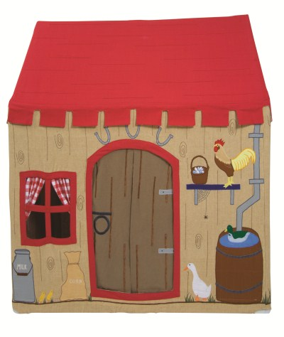Children's Girls and Boys Large Win Green Barn Playhouse