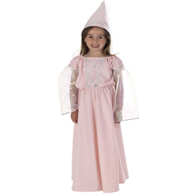 Children's Girls Princess Freyja Medieval Princess Fancy Dress Up Costume