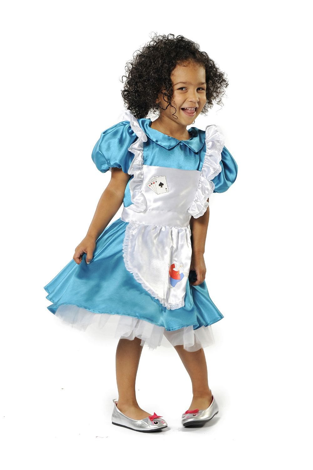 Children S Kids Girls Deluxe Alice In Wonderland Fancy