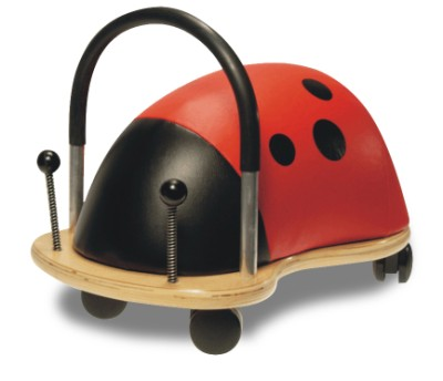Children's Ride-On Wheelybug Ladybird Large