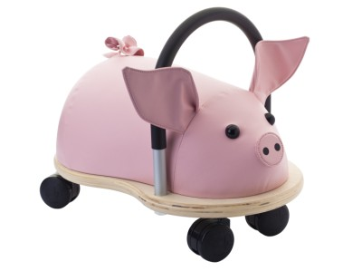 Children's Ride-On Wheelybug Pig Large