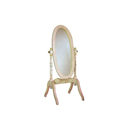 Children's Teamson Crackle Finish Standing Mirror