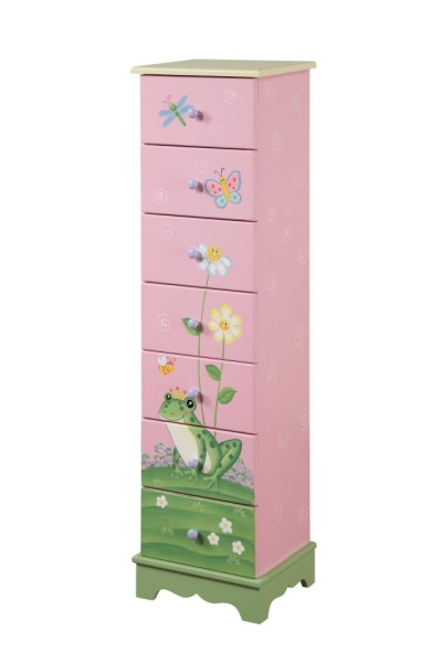 Children's Teamson Magic Garden 7 Drawer Cabinet