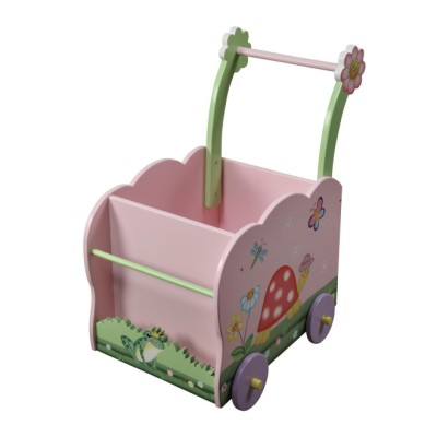 Children's Teamson Magic Garden Push Cart