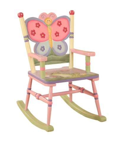 Children's Teamson Magic Garden Rocking Chair