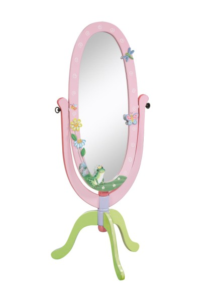 Children's Teamson Magic Garden Standing Mirror