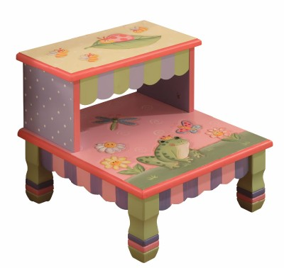 Children's Teamson Magic Garden Step Stool